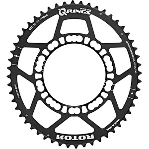 Rotor Q Ring Road Chainring 110mm 5 Arm outside ブラック