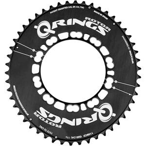 Rotor Q-Ring Road Aero Kedjedrev 110mm 5-Arm utsida svart svart