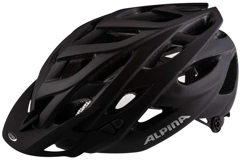 Alpina D-Alto L.E. Helmet black matt 52-57 cm 2018 Fahrradhelme