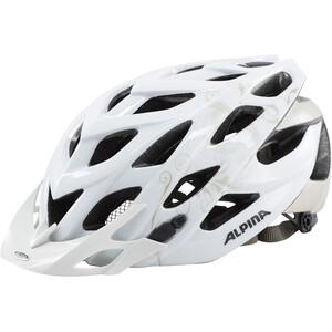 Alpina D-Alto Cykelhjelm, hvid hvid