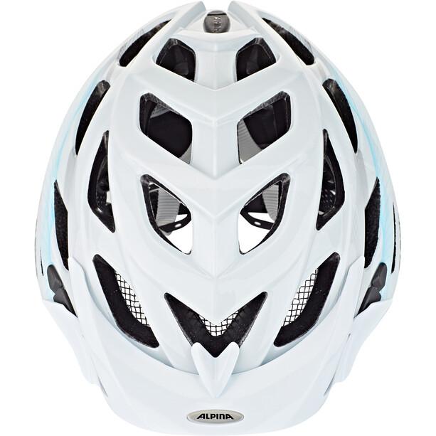 Alpina D-Alto Sykkelhjelmer Hvit/Blå