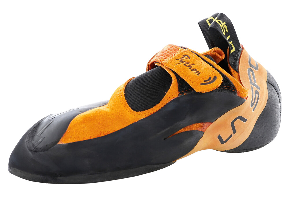 la sportiva python chaussures d 39 escalade orange noir sur. Black Bedroom Furniture Sets. Home Design Ideas