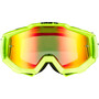 100% Accuri Anti Fog Mirror Goggles flue/yellow