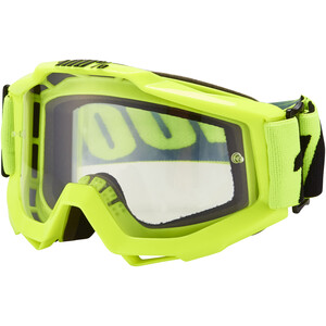 100% Accuri Anti Fog Clear Goggles fluo yellow fluo yellow