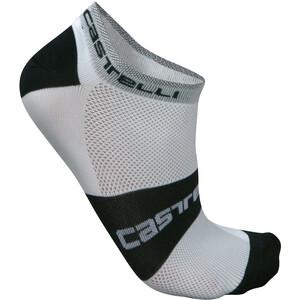 Castelli Lowboy Sokker Hvit/Svart Hvit/Svart