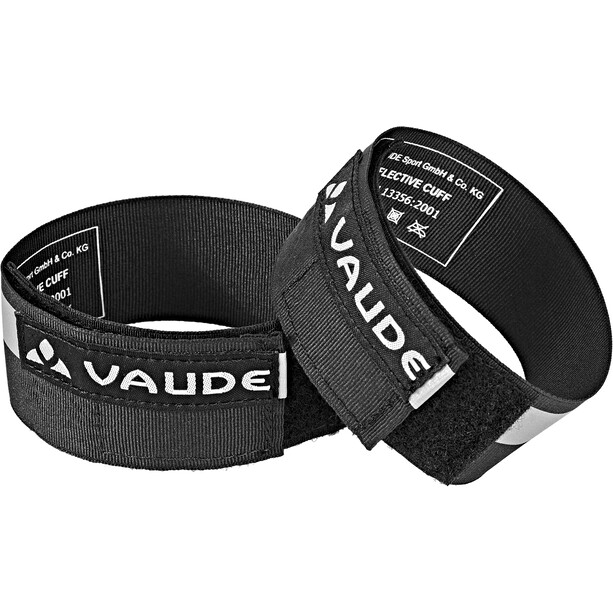 VAUDE Reflective Cuffs black