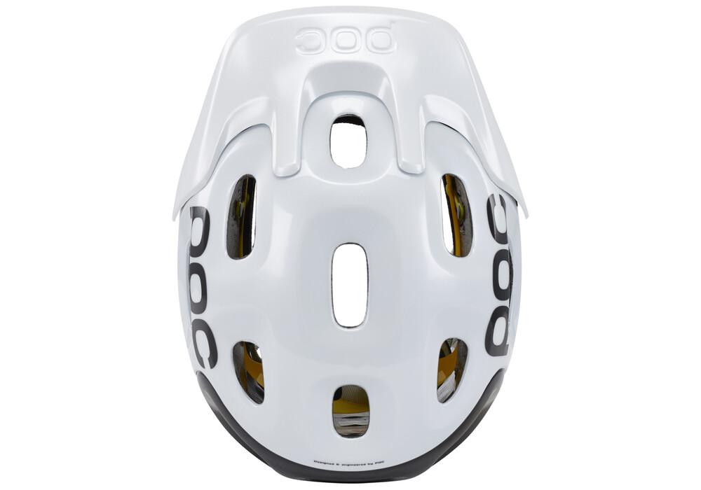 poc trabec race mips helmet white black online kaufen. Black Bedroom Furniture Sets. Home Design Ideas