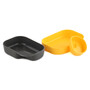 Wildo Camp-A-Box Geschirrset Basic lemon