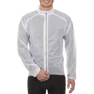 Protective Raincover Jacke Herren white white