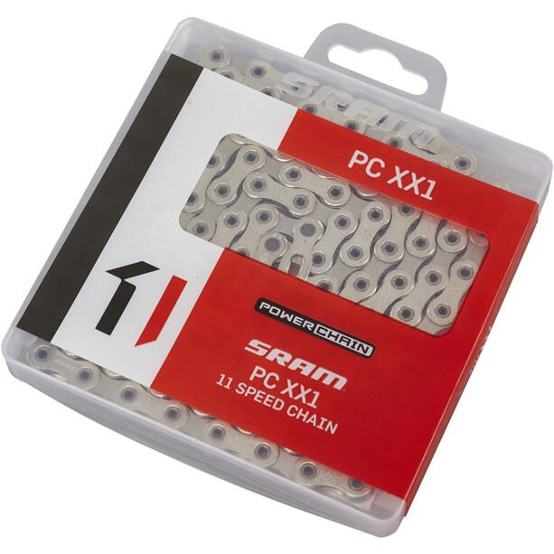 SRAM XX1 Power Chain Kette 11-fach HollowPin silber