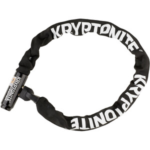 Kryptonite Keeper 785 Integrated Chain Kettenschloss schwarz schwarz
