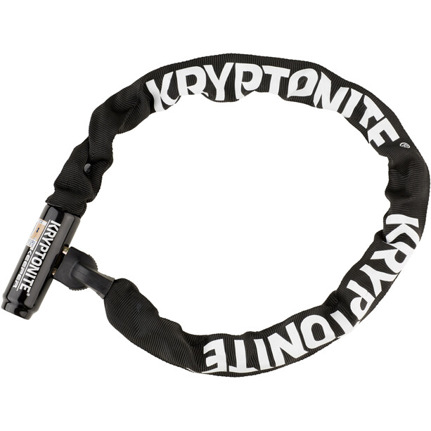 Kryptonite Keeper 785 Integrated Chain Kettenschloss schwarz