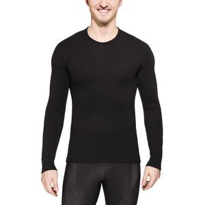 Woolpower 200 Rundhalsshirt black black