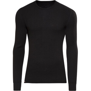 Woolpower 200 Rundhalsshirt schwarz schwarz