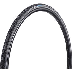 """SCHWALBE Marathon Plus Clincher Tyre Performance 28"""", black-reflex black-reflex"""