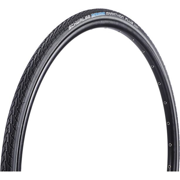 """SCHWALBE Marathon Plus Clincher Tyre Performance 28"""", black-reflex"""
