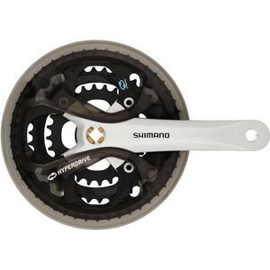 Shimano Acera FC-M361 Pédalier 48/38/28, argent/noir argent/noir