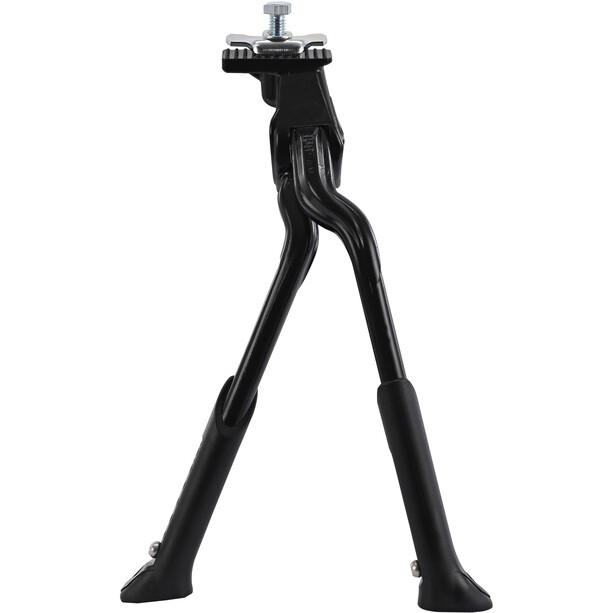 """Red Cycling Products Adjustable Double Leg Kickstand Two-Legged Stand 24-28"""" svart"""