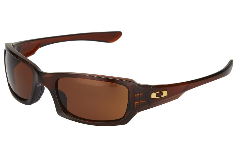 4fa3ccad246 Oakley Fives Squared Sunglasses Polished Rootbeer Dark Bronze ...
