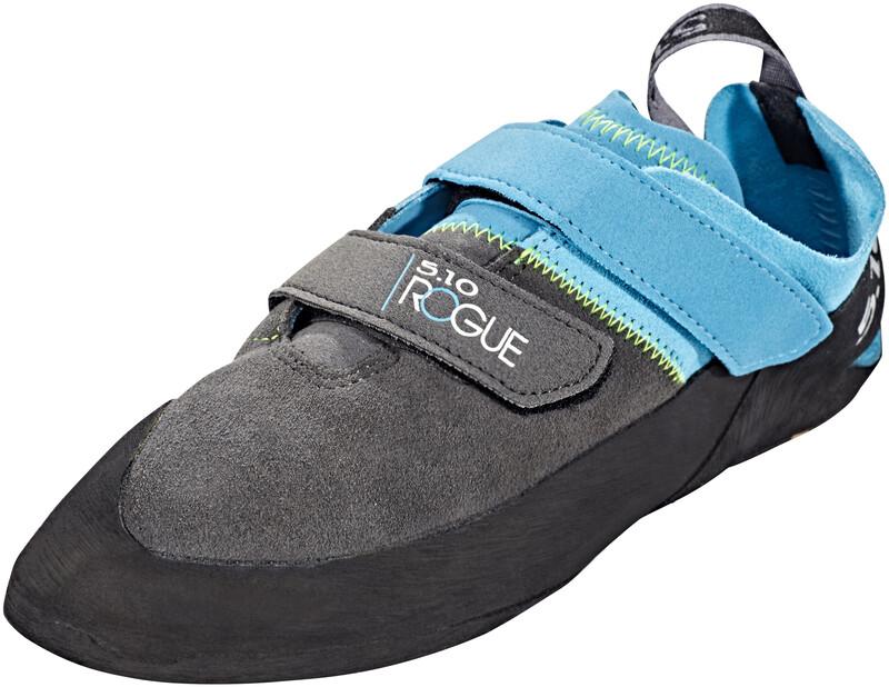 Five Ten Rogue VCS Shoes Men Neon blue/Charcoal 40 2018 Kletterschuhe, Gr. 40