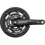 Shimano Trekking FC-T521 Octalink Crank Set 3x10-växlad 44-32-24 Tänder black