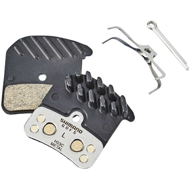 Shimano H03C Ice-Tech Scheibenbremsbelag Metall