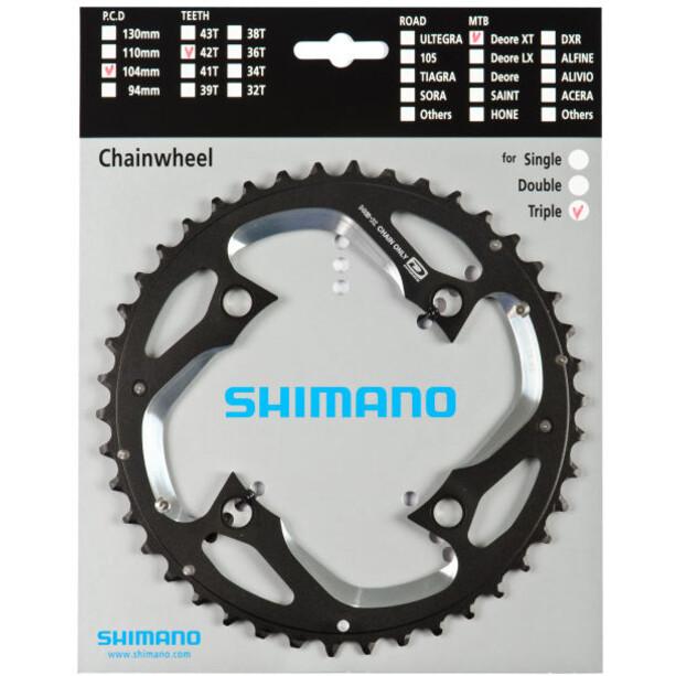 Shimano Deore XT FC-M780 Kettenblatt silver