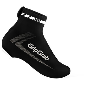 GripGrab RaceAero Lightweight Lycra Überschuhe schwarz schwarz