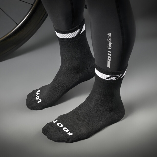GripGrab Spring/Fall Midseason Socken black