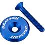 Reverse Steuersatzkappe blau