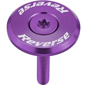 Reverse Steuersatzkappe violet violet