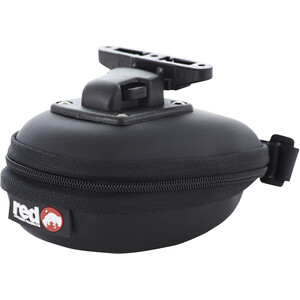Red Cycling Products Saddle Bag Two Seat Post Bag ブラック