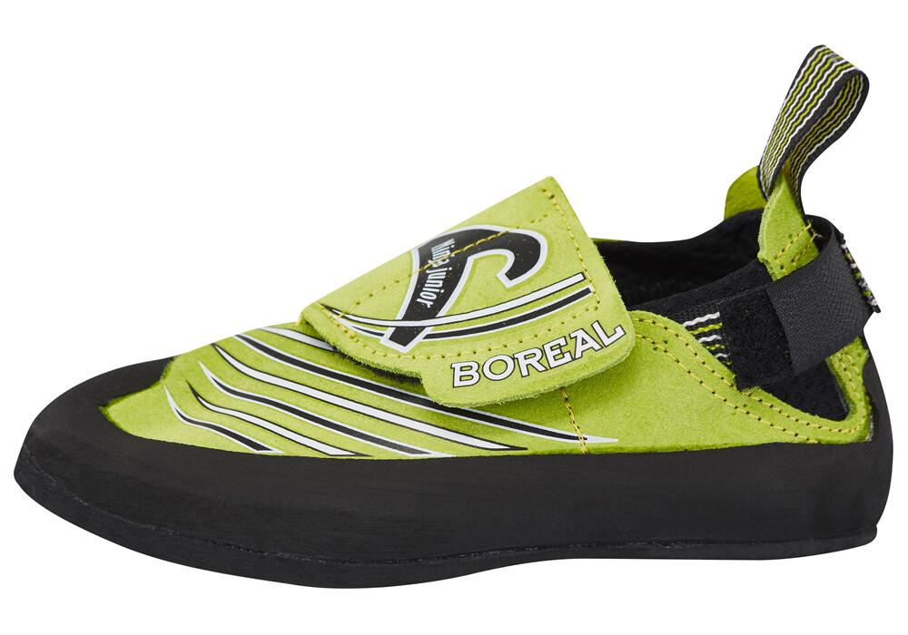 boreal ninja junior chaussures d 39 escalade enfant vert sur. Black Bedroom Furniture Sets. Home Design Ideas