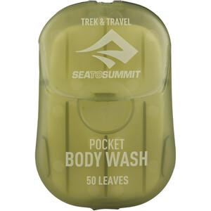 Sea to Summit Trek & Travel Pocket Jabón líquido para el cuerpo 50 hojas