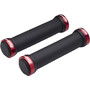 Reverse Classic Lock-On Grips black/red