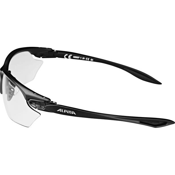 Alpina Twist Four S VL+ Brille black matt