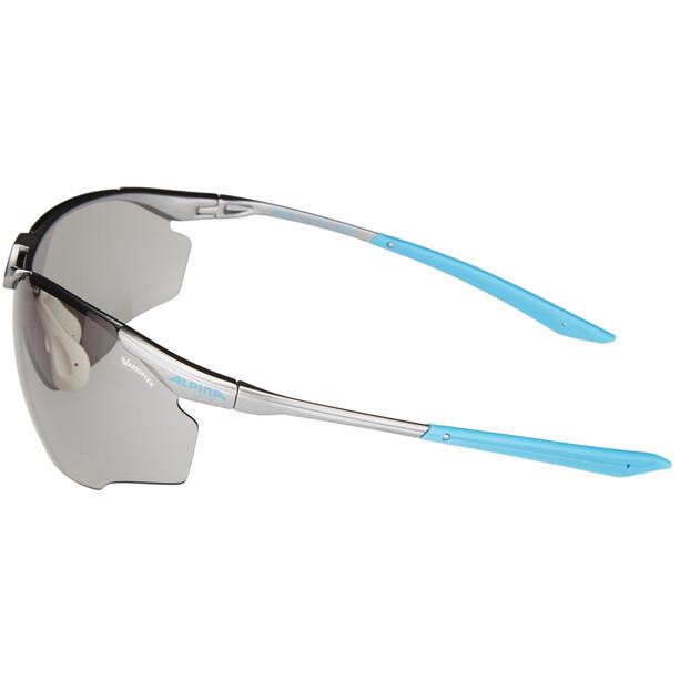 Alpina Splinter Shield VL Brille titan-cyan