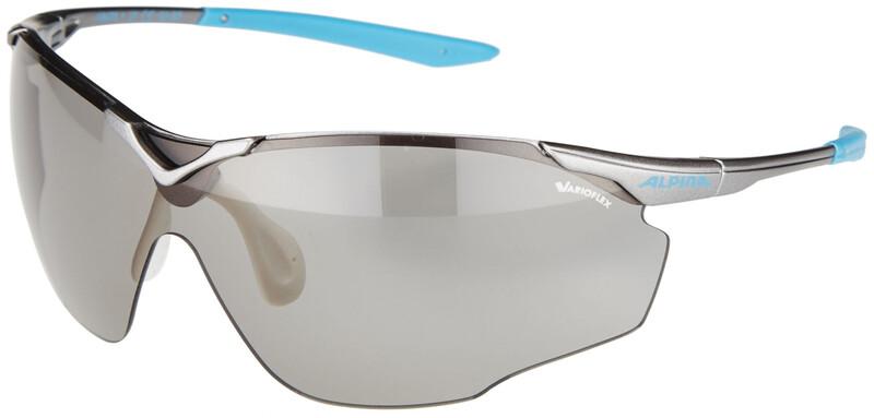 0f3a467c1f28 Alpina Splinter Shield VL Sykkelbriller Grå 2018 Solbriller