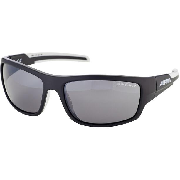 Alpina Testido Brille black matt-white