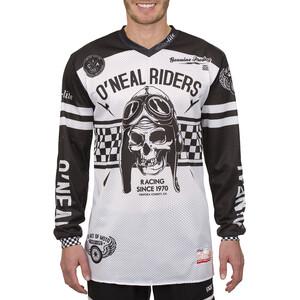 O'Neal Ultra Lite LE 70 Långärmad cykeltröja Herr black/white black/white