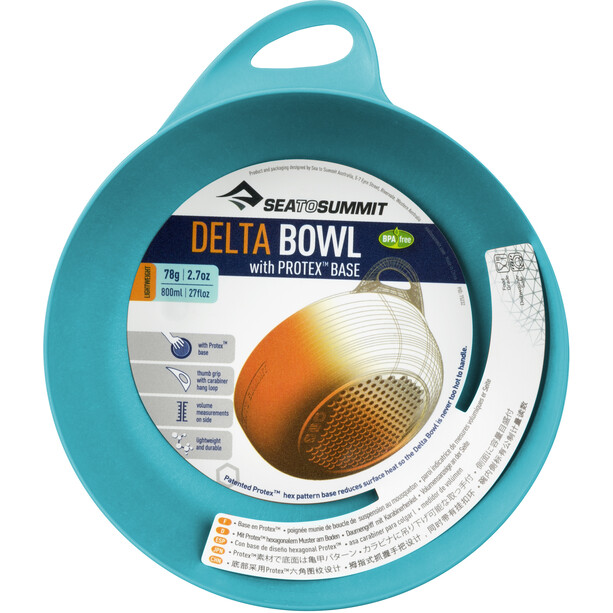 Sea to Summit Delta Bowl pacific blue