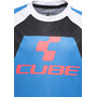 Cube Action Team Rundhalstrikot kurzarm Kinder blue'n'white'n'red