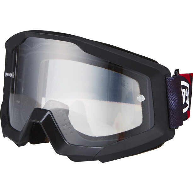 100% Strata Lunettes de protection, slash/anti fog clear