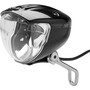 Busch + Müller Lumotec IQ2 Luxos U Front Light, black