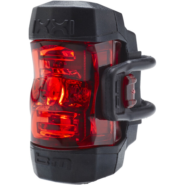 Busch + Müller IXXI Battery Taillight LED silver/red