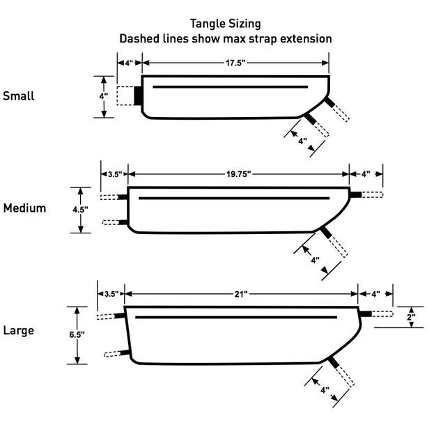 Revelate Designs Tangle Rahmentasche L black