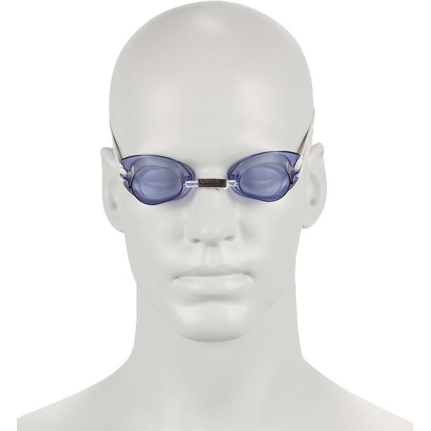 speedo Swedish Brille weiß/blau