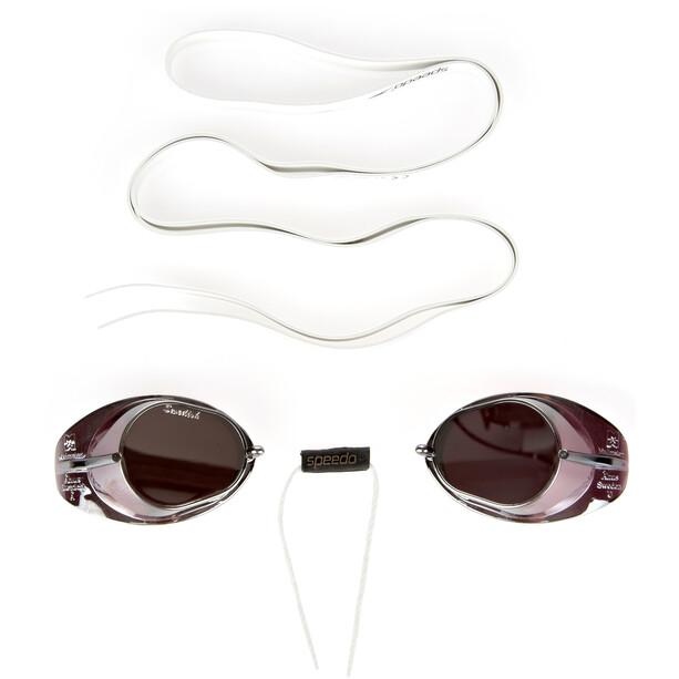 speedo Swedish Mirror Goggles, noir