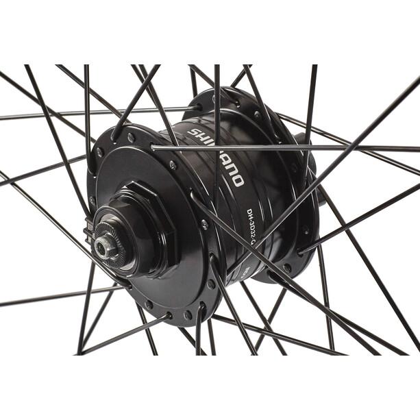 Ryde Roue avant Roue Noir 28 x 1.75, Shimano DH3D30