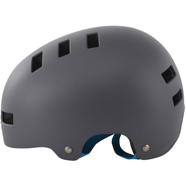 bluegrass Super Bold Dirt-Helm matt gray/cyan